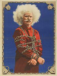 evil albino magician